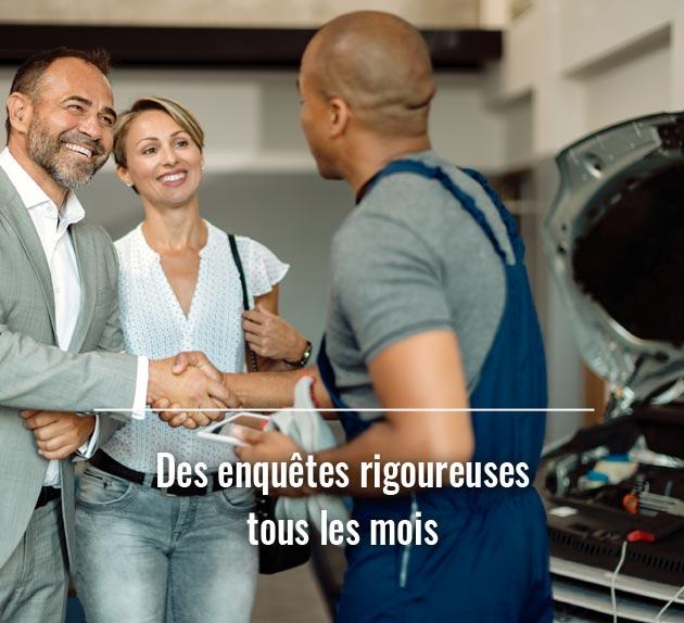 Enquêtes de satisfaction concessions automobiles